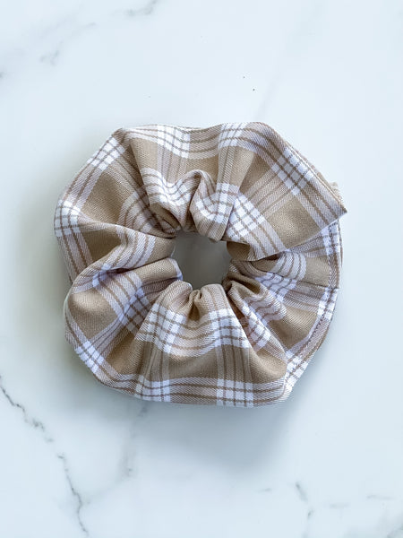 TAN PALAKA SCRUNCHIE