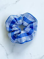 ROYAL BLUE PALAKA SCRUNCHIE