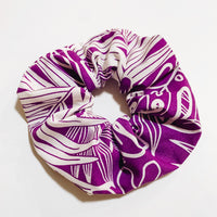 PUA PURPLE SCRUNCHIE