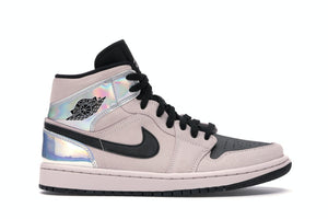 Jordan 1 Mid Dirty Powder Iridescent (Mujer)
