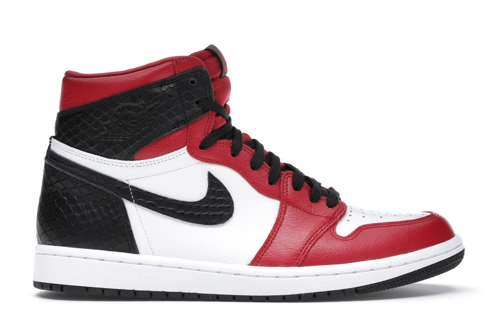 Jordan 1 Retro High Satin Snake Chicago (Mujer)