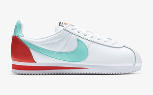 Nike Classic Cortez White Blue Orange