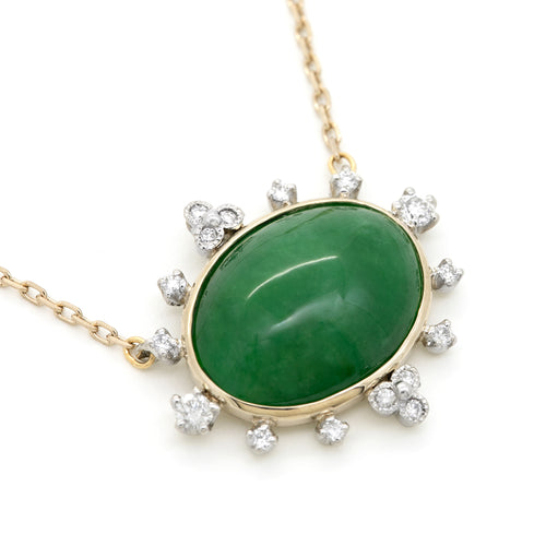 1230J<br> ヒスイネックレス <br>Jadeite necklace