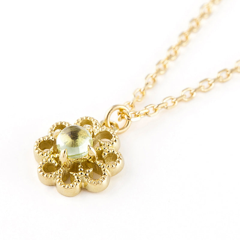 1145A<br>  バースストーンネックレス<br>Birthstone necklace