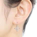 1442A_HS<br>ダイヤモンドピアス<br>- Sunset Mirage -<br>Diamond pierced-earrings