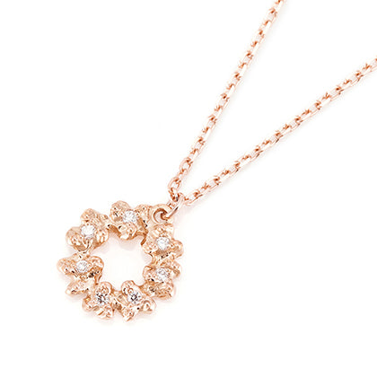 695A<br>ダイヤモンドネックレス<br>Diamond necklace