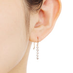 1306A<br> ダイヤモンドピアス<br> - dew - <br>Diamond pierced-earrings