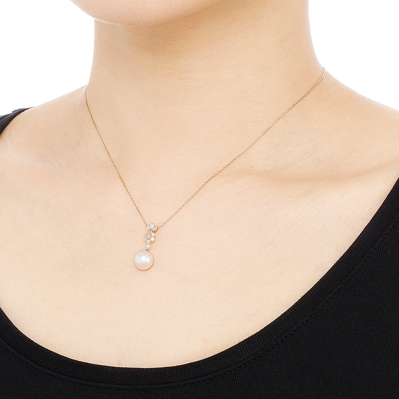 1221A<br> アコヤパールネックレス <br>Akoya pearl necklace