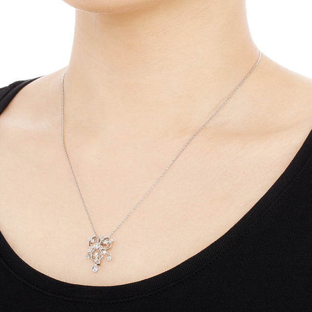 542A<br>ダイヤモンドネックレス<br>Diamond necklace