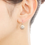 1246A-HS<br>ダイヤモンドピアス<br> -silk-<br>Diamond pierced-earrings