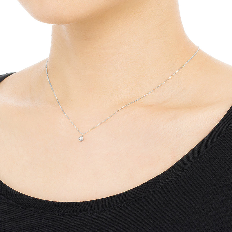 1318A<br>ひし形モチーフネックレス <br>Diamond necklace
