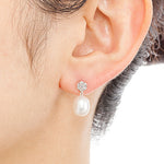 032U<br>パールピアス<br>Pearl pierced-earrings