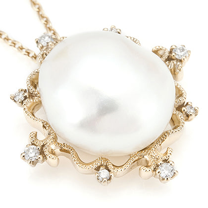 627B<br>パールネックレス<br>- CRADLE -<br>Pearl necklcae