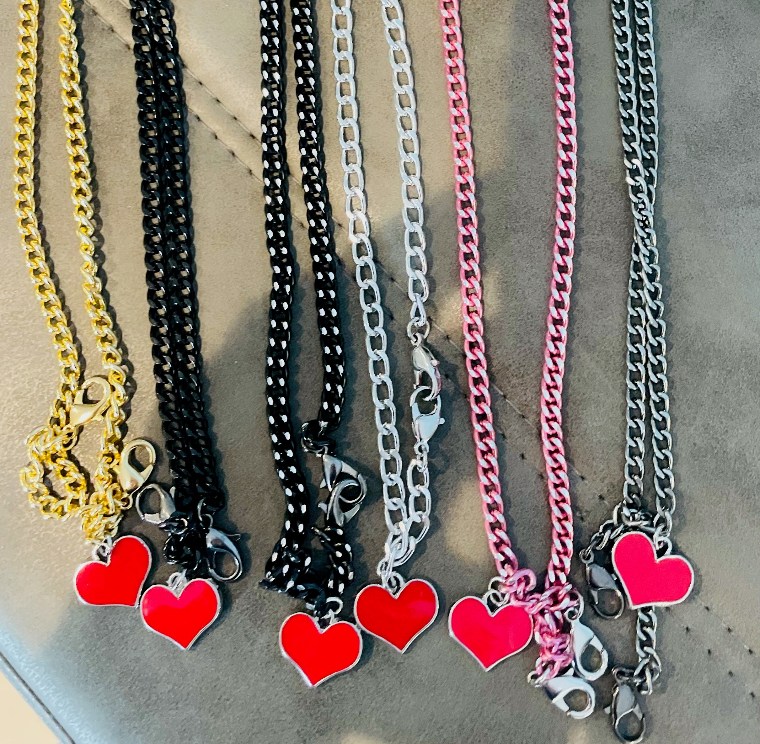 HEART & SOUL BKEEPER MASK CHAINS