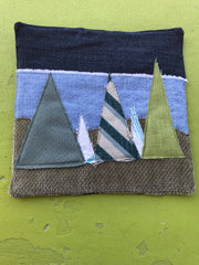 Potholders: Pine Tree