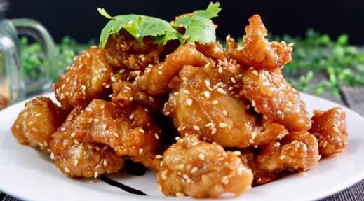 Air Fried Sesame Chicken
