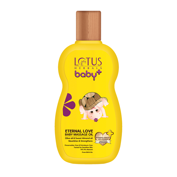 BABY+ ETERNAL Love Baby Massage Oil