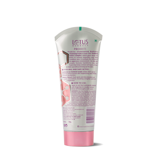 Probrite Illuminating Radiance Sulphate Free Cleansing Foam