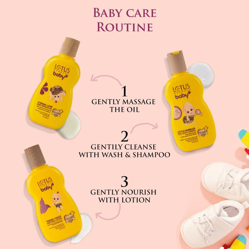 BABY+ TENDER Touch Baby Body Lotion - Lotus Herbals