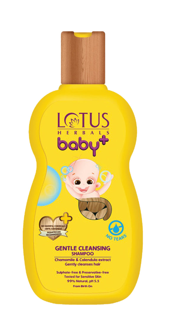 Lotus BABY+ Gentle Cleansing Shampoo