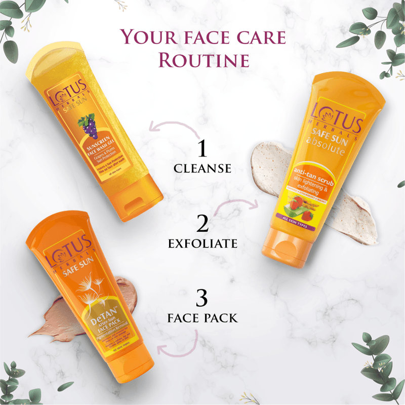 DeTAN™ After-Sun Face Pack - Lotus Herbals