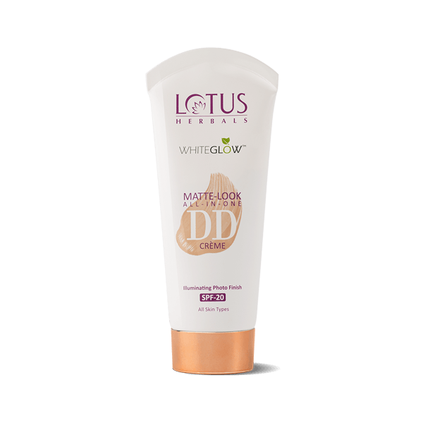 Matt-Look DD Crème SPF-20 Natural Beige - Lotus Herbals