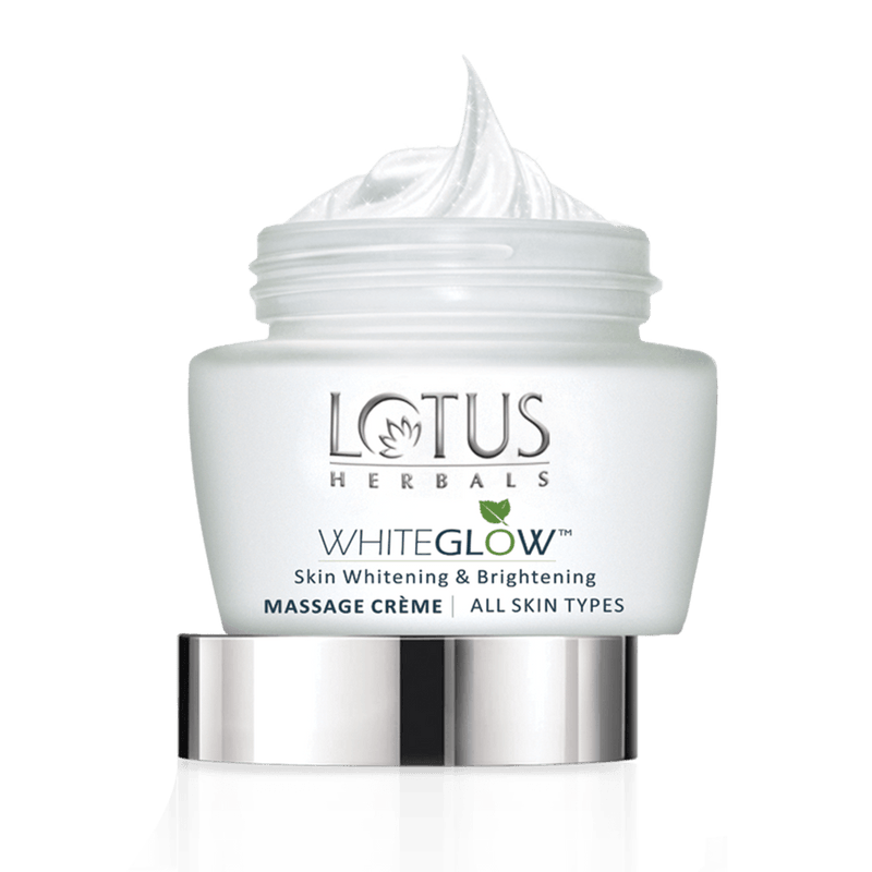 Skin Brightening MASSAGE CRÈME - Lotus Herbals