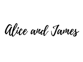 Alice and James
