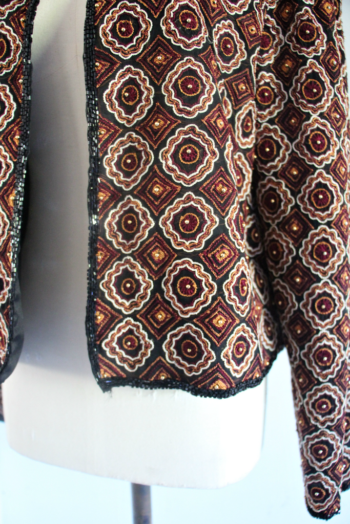 Sténay Vintage Beaded Jacket