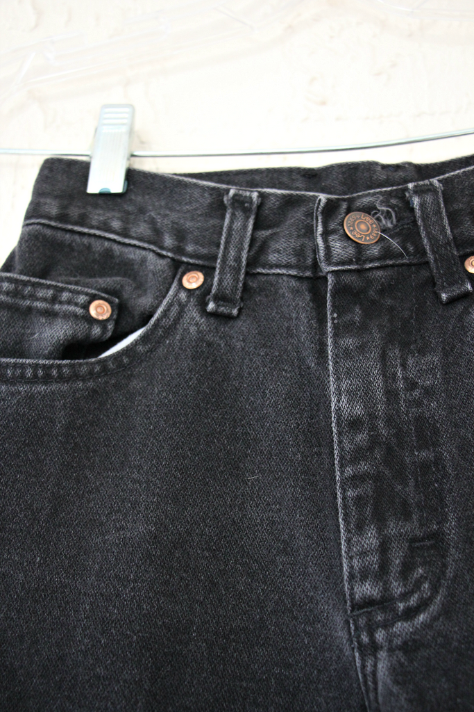 Vintage 1960's Black Lee Denim