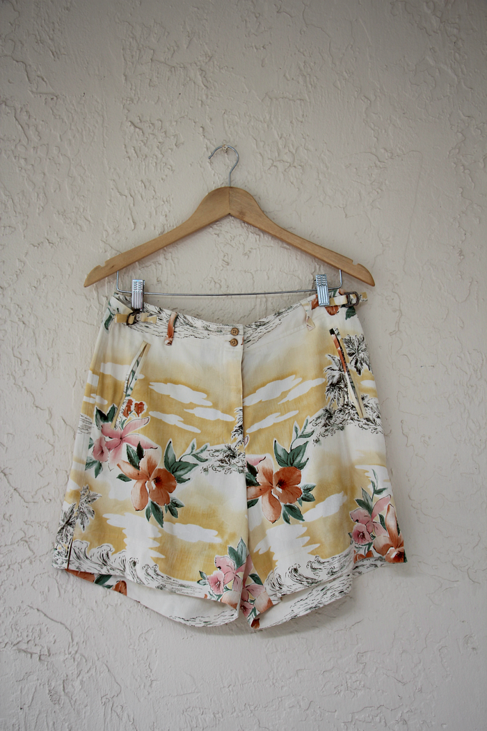 Tommy Bahama Silk Floral Shorts
