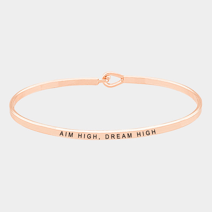 Aim High - Metal Bracelet