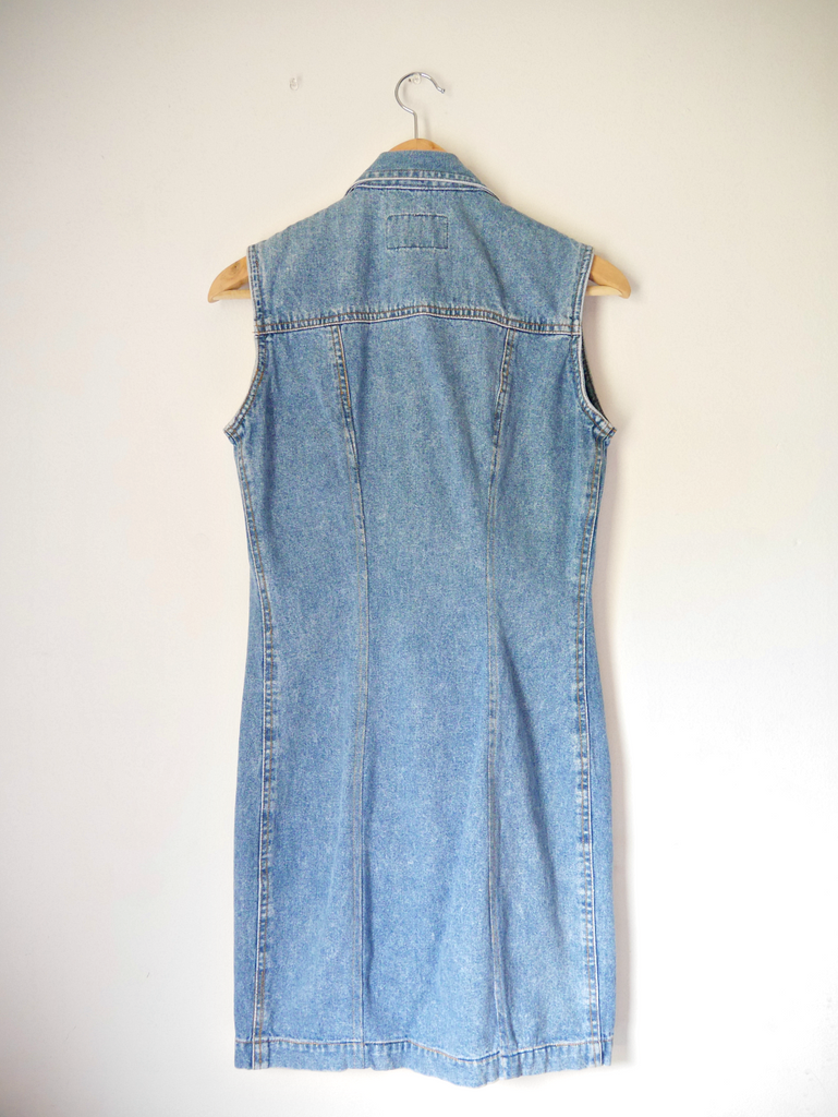 Squeeze Jeans 90's Mini Dress - Alice+James - 3