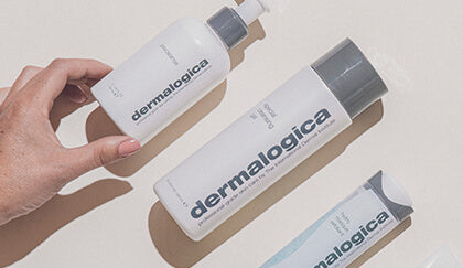 three dermalogica products