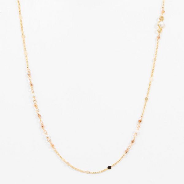 FINE VILMA CHAIN WITH PEARLS
