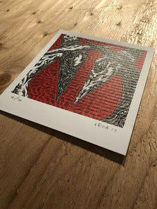 Spies Blotter Art By Mark Dean Veca - Signed & Numbered Editions Of 100