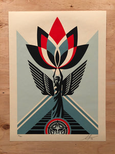 Lotus Angel 2020 By Shepard Fairey