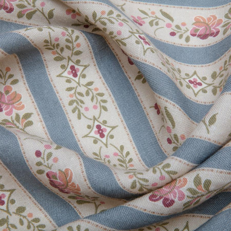 Beauclerc Stripe Wide Wedgewood