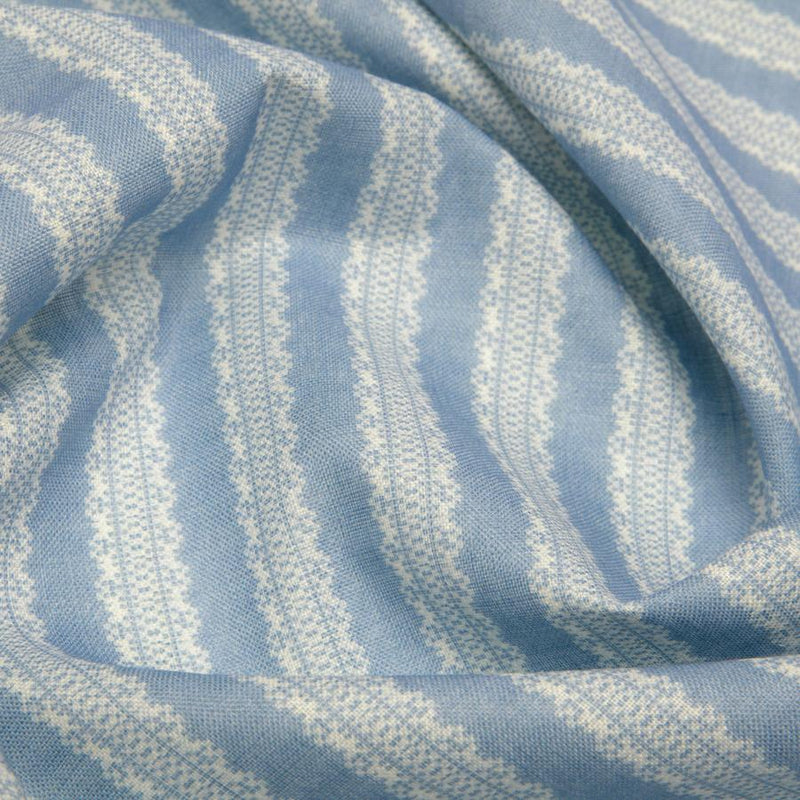 Torchon Stripe Cornflower