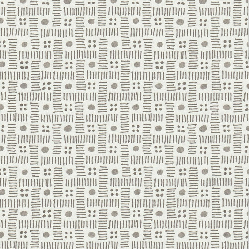 Komon Charcoal Wallpaper