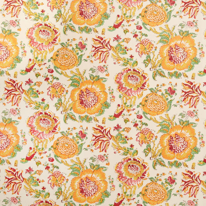 Penny-Morrison-Dahlia-Flower-Floral-Unique-Quirky-Colourful-Orange