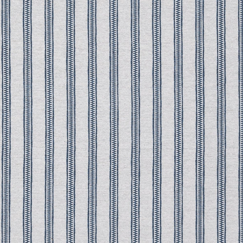 Penny-Morrison-TIcking-Stripe-Lines-Vertical-Panels-Statement-Bold-Brown-Ocean-Blue
