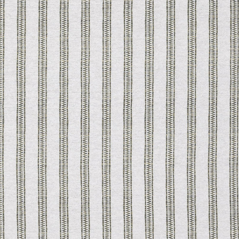 Penny-Morrison-TIcking-Stripe-Lines-Vertical-Panels-Statement-Bold-Field-Green