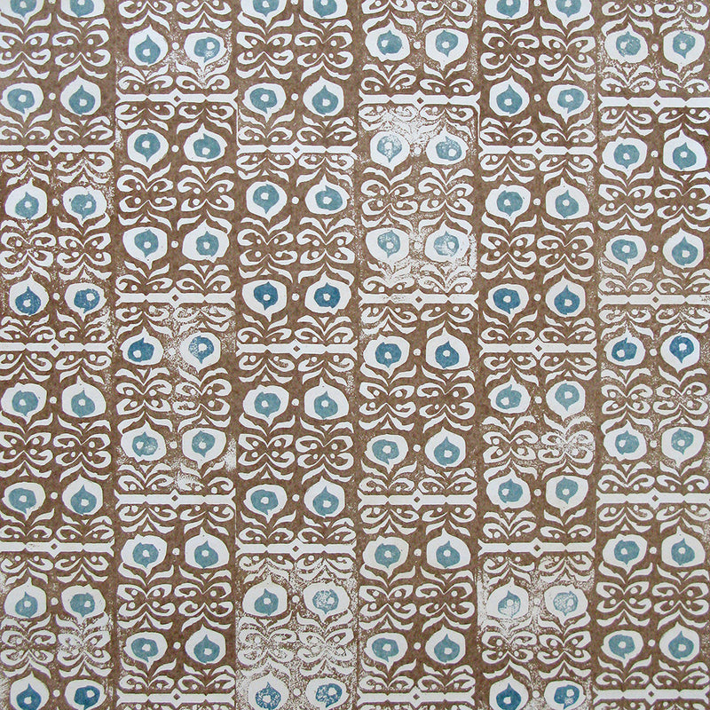 Iznik Cinnamon Wallpaper
