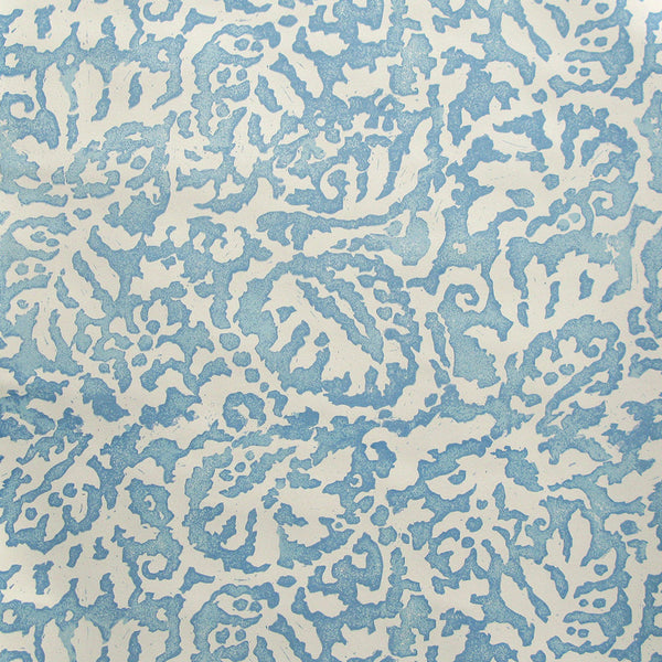 Majolica Mamluk Blue Wallpaper