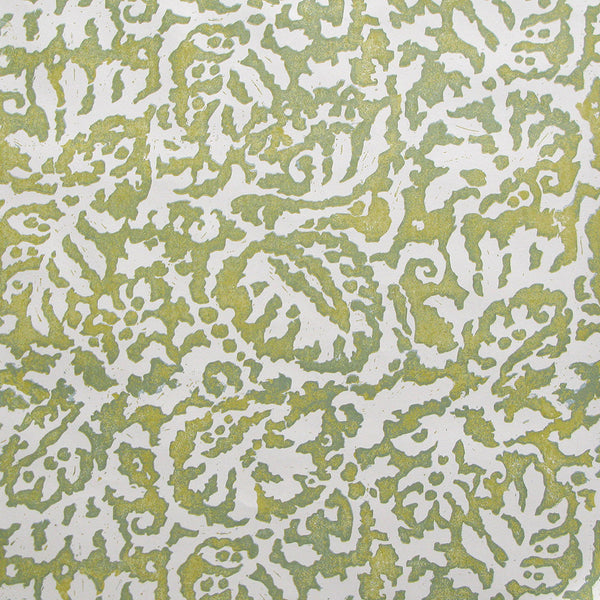 Majolica Old Gold Wallpaper