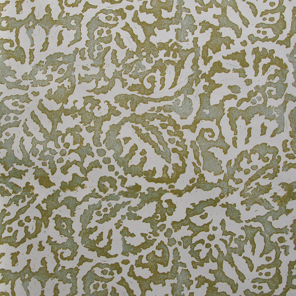 Majolica Pale Celadon Wallpaper