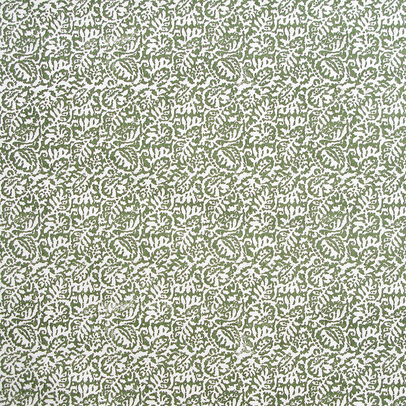 Tin Glaze Bronze Green Wallpaper