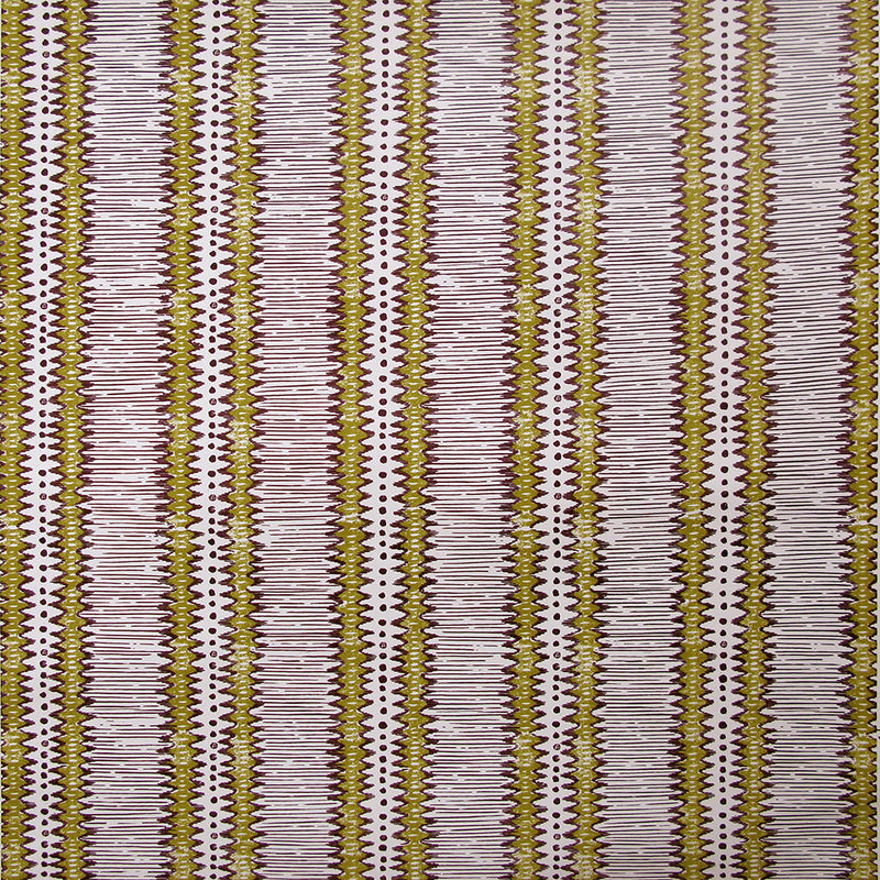 Tribal Stripe Straw Wallpaper