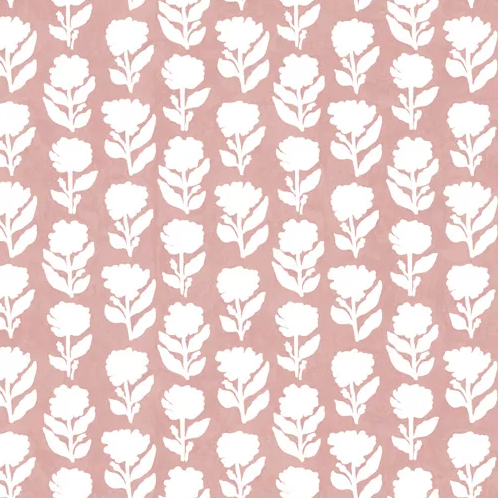 Marigold Pale Pink Wallpaper